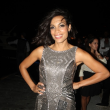 Rosario Dawson Spotted at 'Time To Rise'Interactive Installation + Film