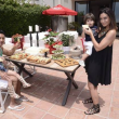 Mario Lopez and Family Celebrate 4th of July at the Kia Malibu Beach House