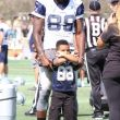 Dez Bryant's Son Steals The Show at Dallas Cowboys Training Camp