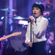 Carly Rae Jepsen in Calvin Rucker on Late Night With Seth Meyers