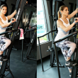 Ashley Greene Hosts Rise Nation Class in West Hollywood Wearing Chill By Will
