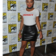 Christina Milian Wears Never Fully Dressed at Comic-Con 2016