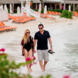 'Bachelor' Bob Guiney & Jessica Canyon Honeymoon at Moon Palace Jamaica Grande