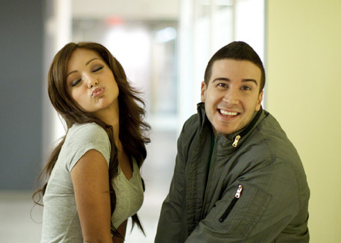 vinny from jersey shore dating melanie As an original member of the hard partying cast of mtv's hit series jersey shore, vinny guadagnino may be better known for drinking rather than eating.