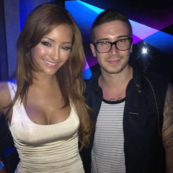Vinny Guadagnino is dating Melanie Iglesias Twit pic