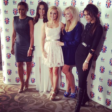 The SPice Girls reunited for 2012 London Olympics
