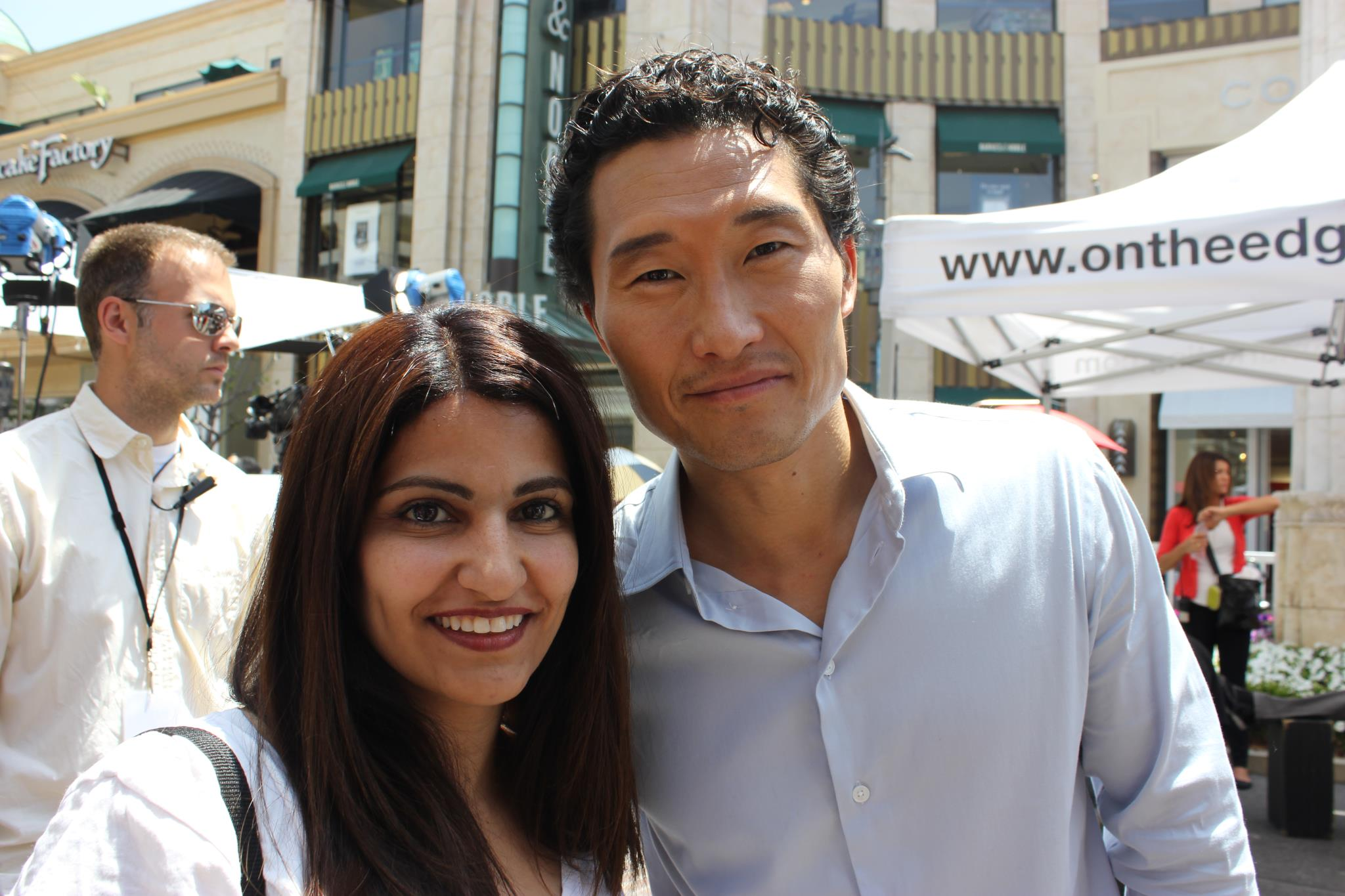 Daniel Dae Kim spotted at The Grove