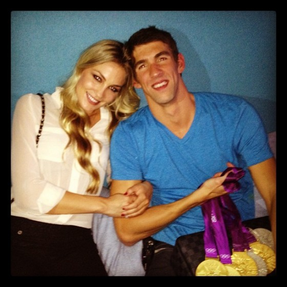 Michael Phelps girlfriend Megan Rossee
