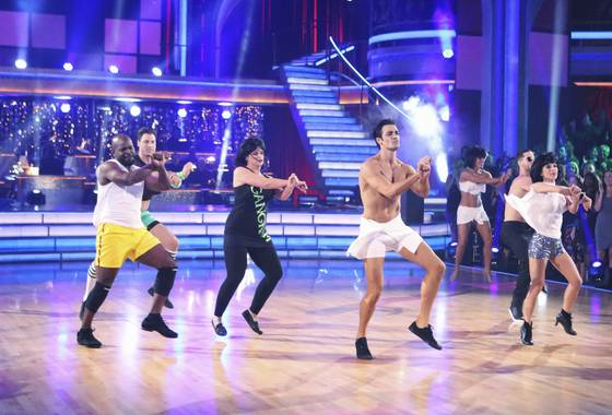 DWTS Gangnam Style Freestyle video
