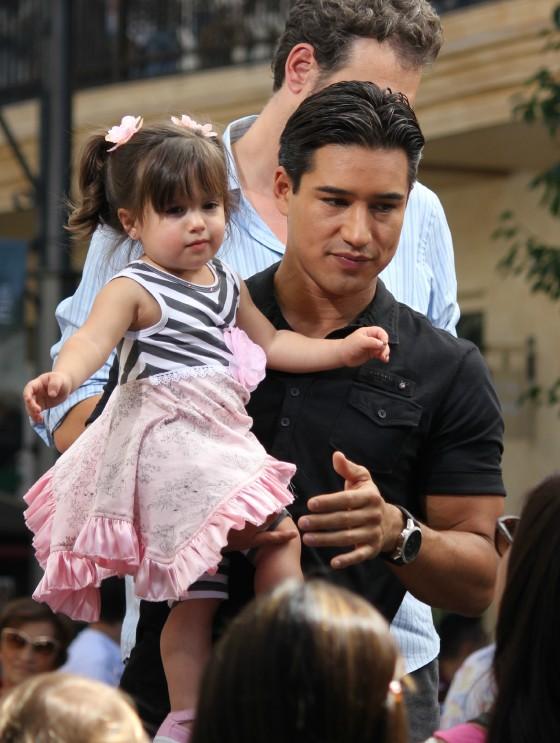Mario Lopez Baby Down Syndrome Eva Longoria Photos Photos Eva