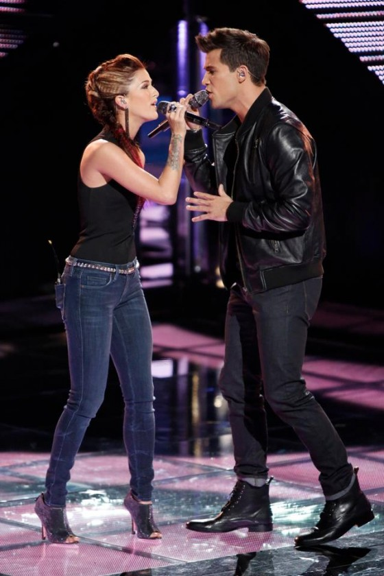Casssadee Pope and Dez Duron