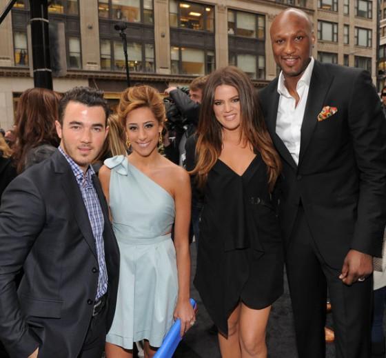Kevin Jonas and Khloe Kardashian