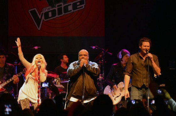 The Voice coaches at House of Blues