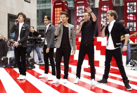 One Direction on Today Show