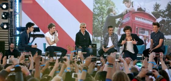 One Direction on Ellen Degeneres show