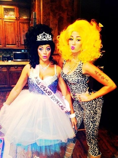 Miley Cyrus Nicki Minaj Halloween Costume