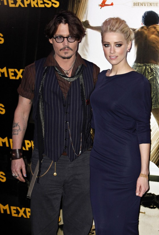 Johnny Depp and Amber Head