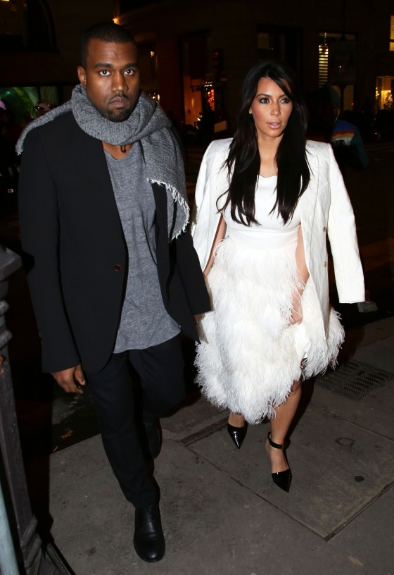 Kim Kardashian and Kanye West go Cartier shopping
