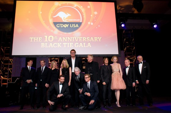 G'Day USA 10th anniversay LA Gala 2013