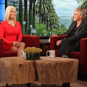 Nicki Minaj Ellen DeGeneres