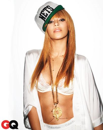 Beyonce Nets Cap GQ