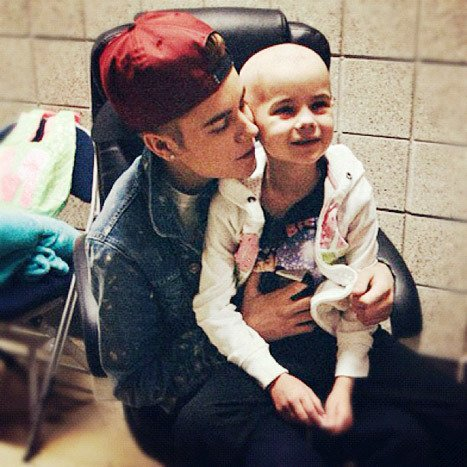 Justin Bieber cancer patient