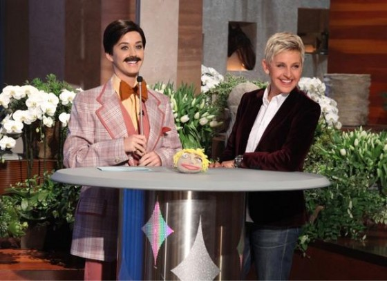 Katy Perry cross dress on ellen degeneres