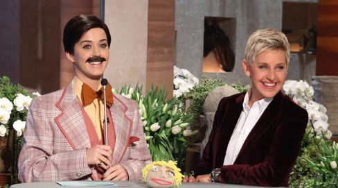 Katy Perry cross dresser on Ellen