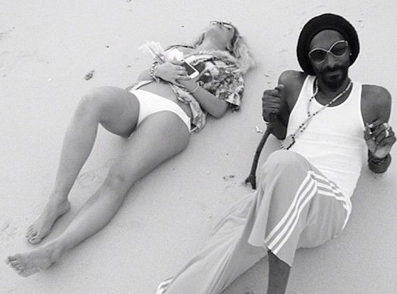 snoop Dogg and Rita Ora
