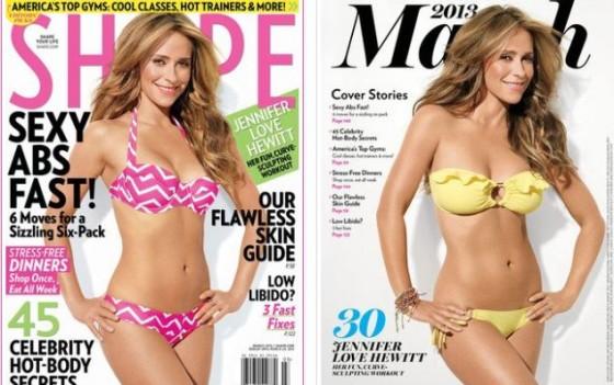 Jennifer love hewitt unflattering bikini pic