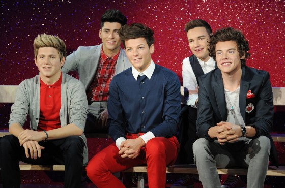 One Direction wax figure