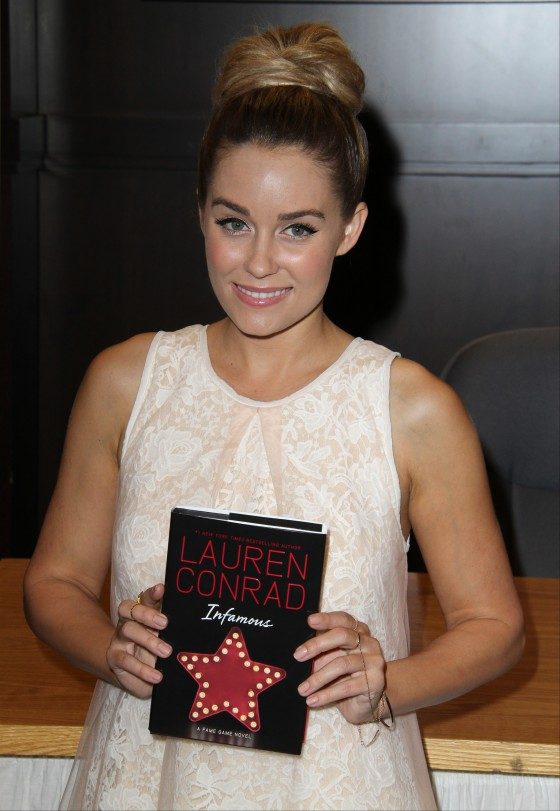Lauren Conrad Infamous book signing