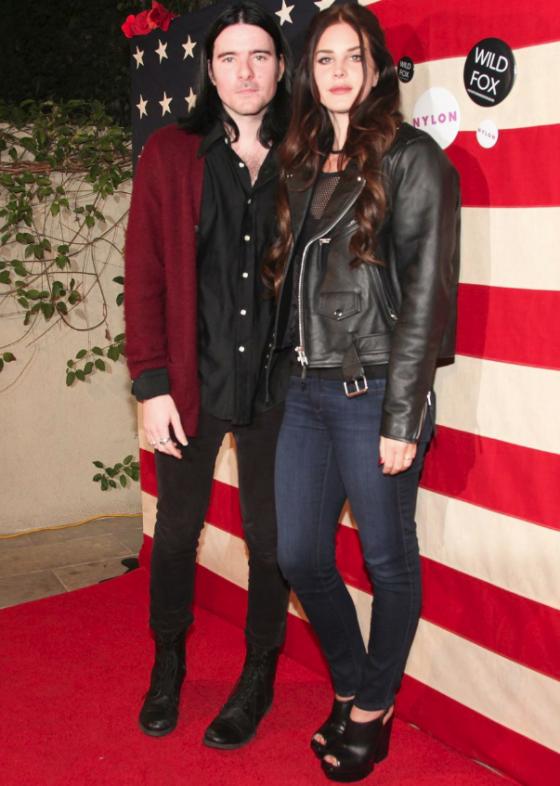 Lana Del Rey Boyfriend Barrie James Oneill London 2013 ...
