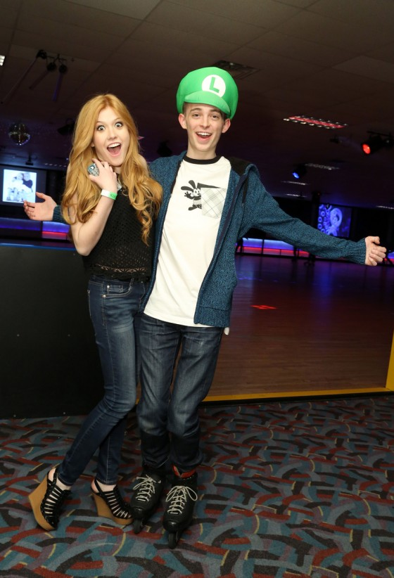 Peyton List Amp Twin Brother Spencer Celebrate Sweet 16