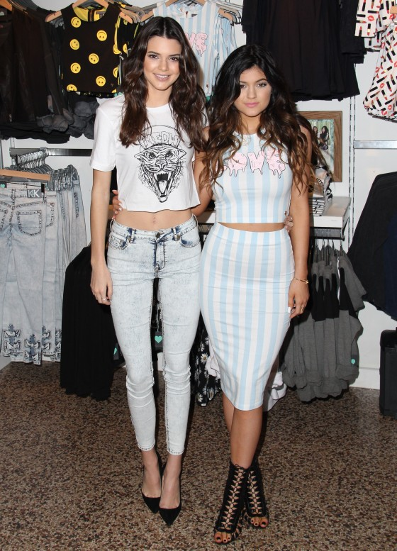 Kendall and Kylie Jenner together
