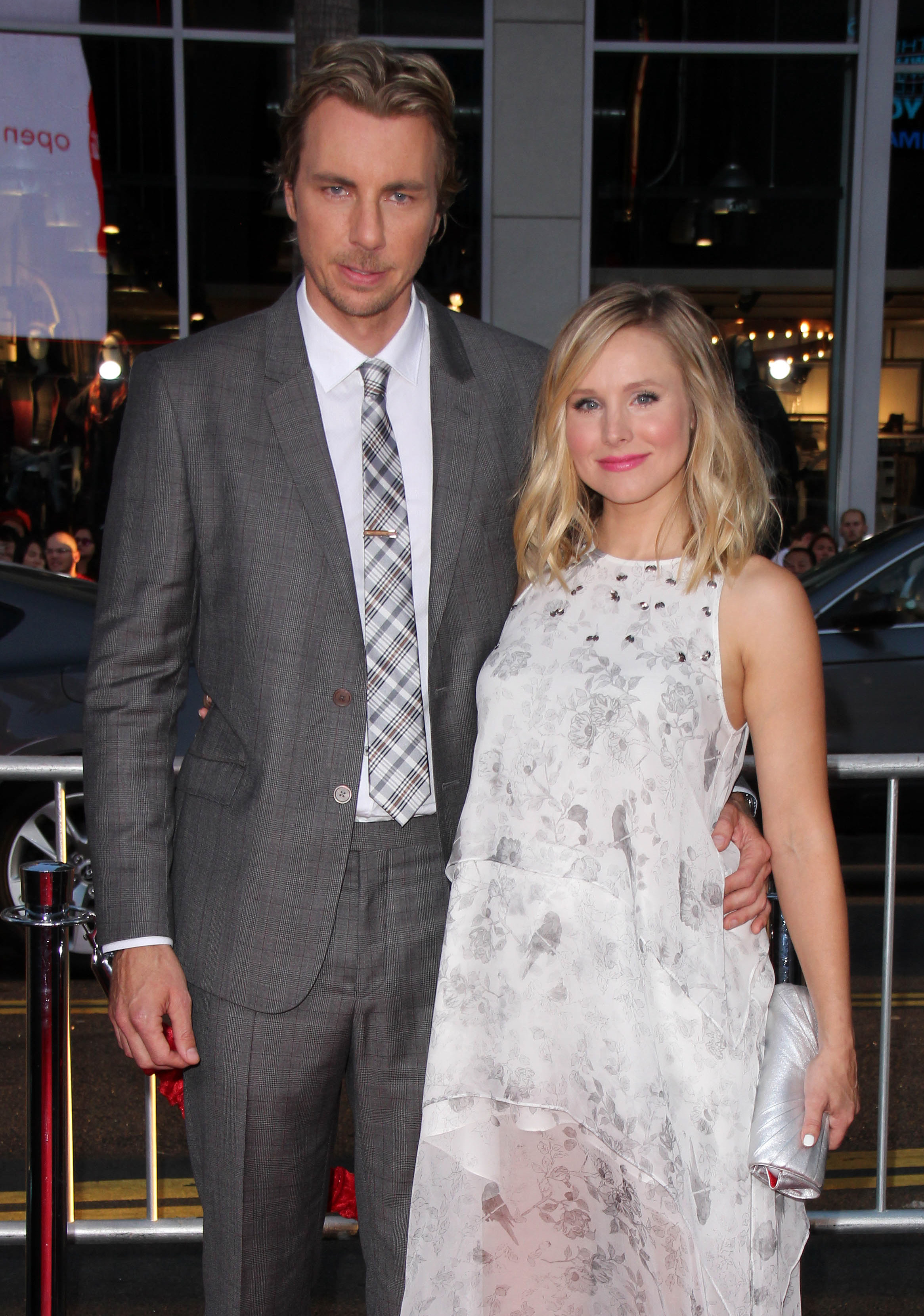 Kristen Bell and husband Dax Kristen Bell Husband