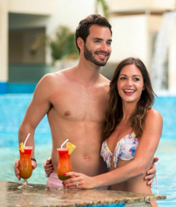Bachelorette Desiree Hartsock and husband Chris Siegfried
