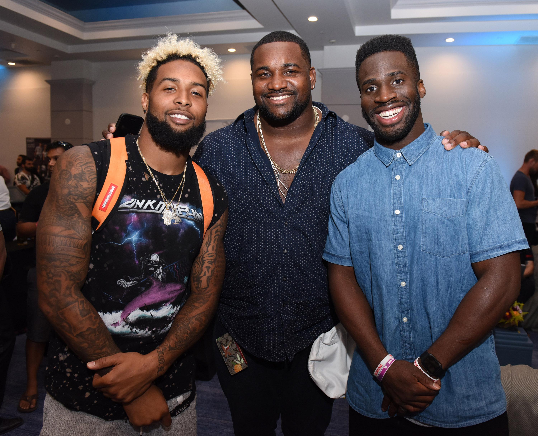 Odell Beckham Jr., Marcell Dareus and Prince Amukamara