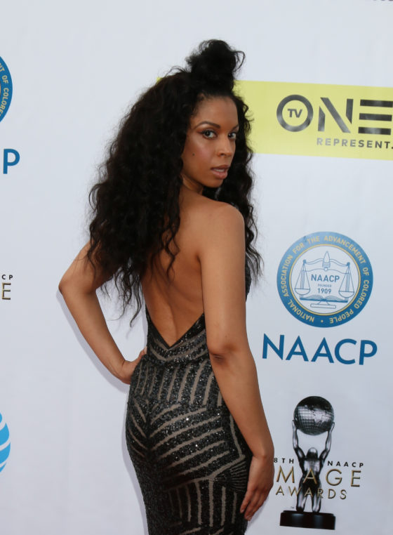 USA - 48th NAACP Image Awards Arrivals - Pasadena
