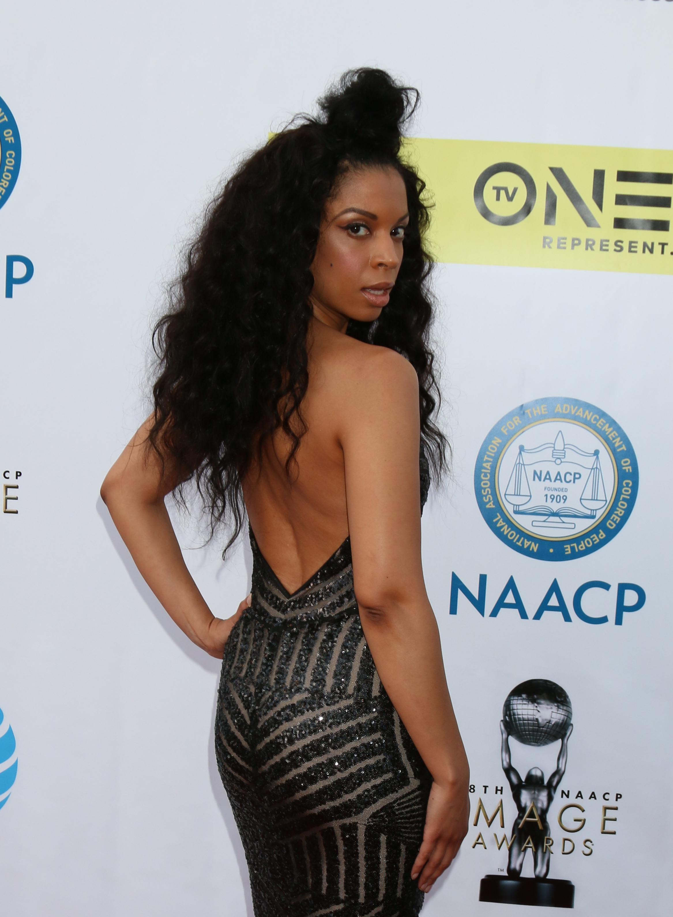 USA - 48th NAACP Image Awards Arrivals - Pasadena