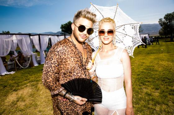 Katy Perry and Adam Lambert
