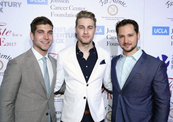 Actors David Bernon, Cameron Fuller and Matt McGorry