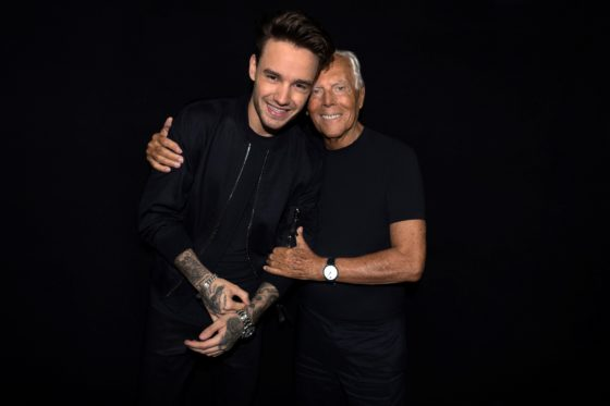 Liam Payne and Giorgio Armani_By SGP