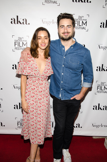 Director of Ingrid Goes West Matt Spicer and Actress Aubrey Plaza