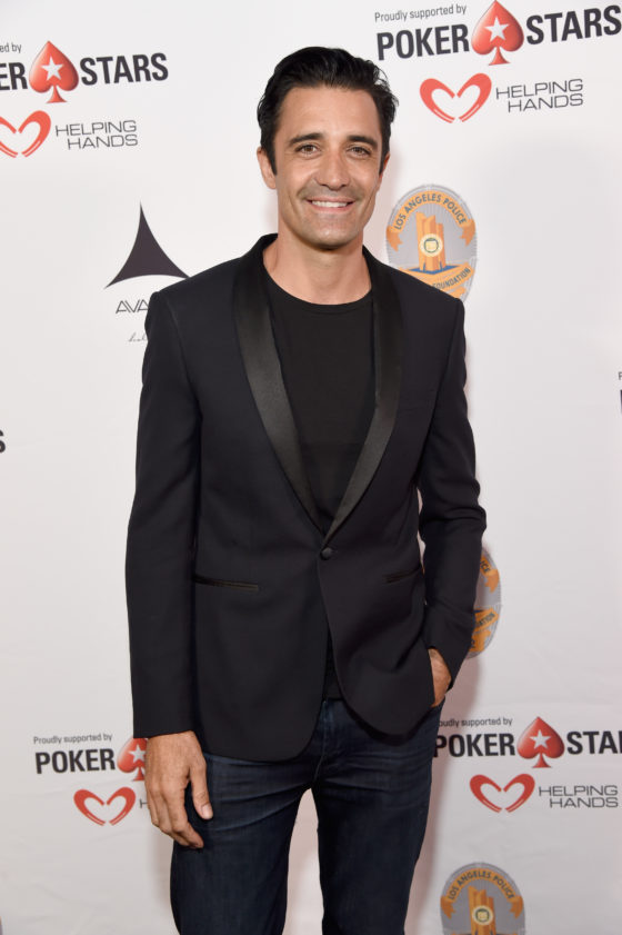 HOLLYWOOD, CA - SEPTEMBER 10: Actor Gilles Marini at the Heroes for Heroes: Los Angeles Police Memorial Foundation Celebrity Poker Tournament at Avalon on September 10, 2017 in Hollywood, California.