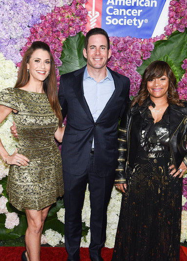 Samantha Harris, Tarek El Moussa, and Simone I. Smith
