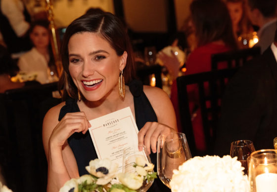 Sophia Bush - Waldorf Astoria Live Unforgettable Dinner Series
