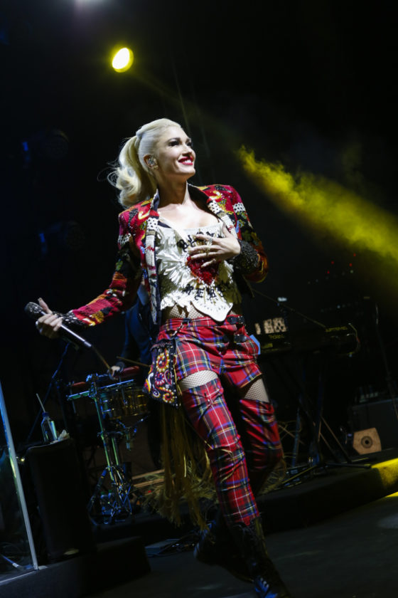 Gwen Stefani Performs at the Opening of the Renaissance Downtown Hotel, Dubai for Marriott Rewards & SPG Members