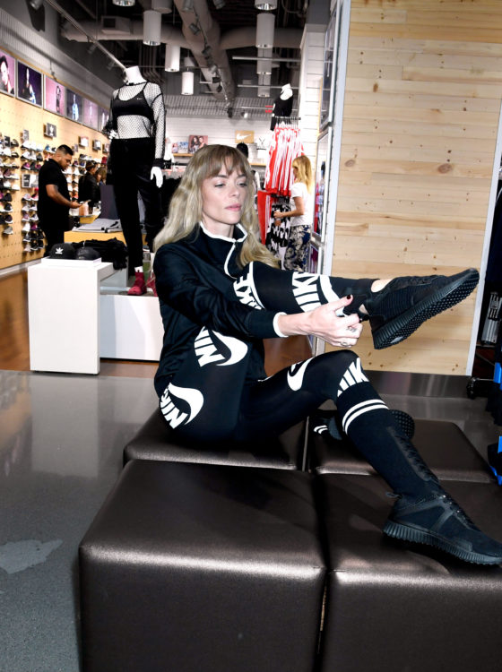 Jaime King during the SIX 02 Store Grand Opening