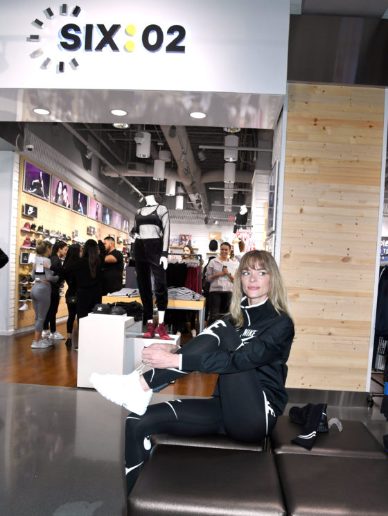 Jaime King during the SIX 02 Store Grand Opening at Hollywood and Highland in Hollywood California, Tuesday, February 6, 2018.